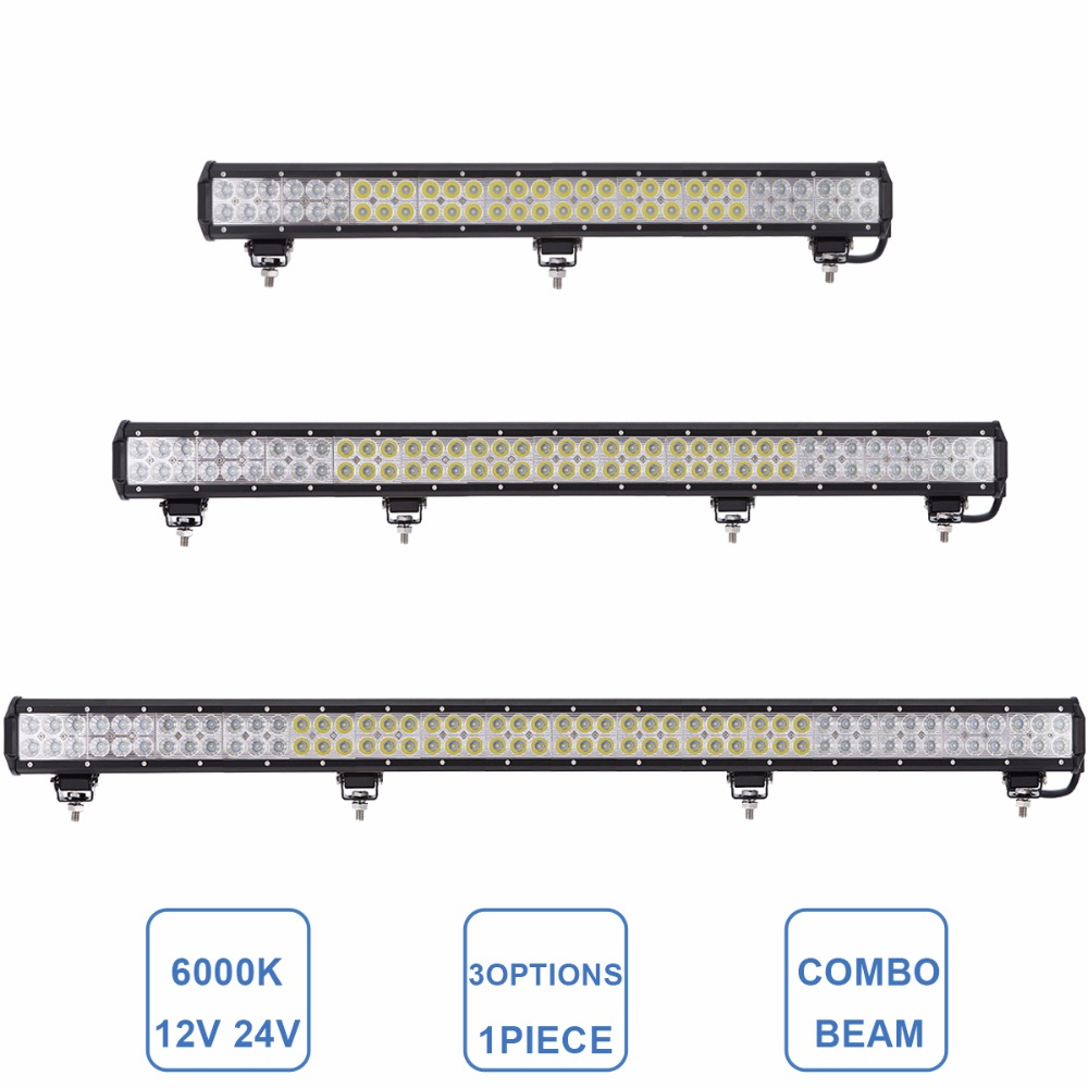 Offroad 29 37 45'' CAR AUTO LED WORK Light Bar 12V 24V SUV ATV UTE 4WD 4X4 WAGON VAN CAPMER PICKUP TRUCK TRACTOR DRIVING LAMP offroad 13 16 21 24 29 32 inch led work light bar 12v 24v car truck trailer pickup tractor wagon combo 4x4 4wd atv driving lamp