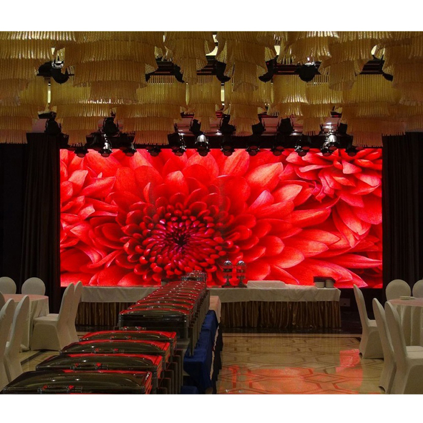 Die Casting Aluminum Cabinet 500×500mm P4.81 Indoor Full Color Led Video Display Screen Rental
