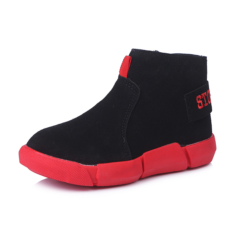 Rubber Kids Boots Shoes Children Girls rubber martin Boots ankle For Shoes PU Leather Martin Girls Fashion Shoe Boys with