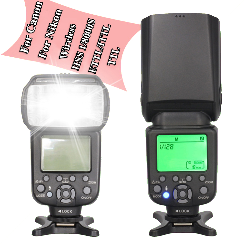 INSEESI IN 586EX II Wireless TTL HSS Flash Speedlite Speedlight For Canon Nikon Vs YONGNUO YN560 III YN-560 IV YN-565EX YN565EX for nikon canon dslr camera speedlite hss 1 8000s ttl flash speedlight inseesi in586exii vs yongnuo yn565ex yn568ex yn 565ex
