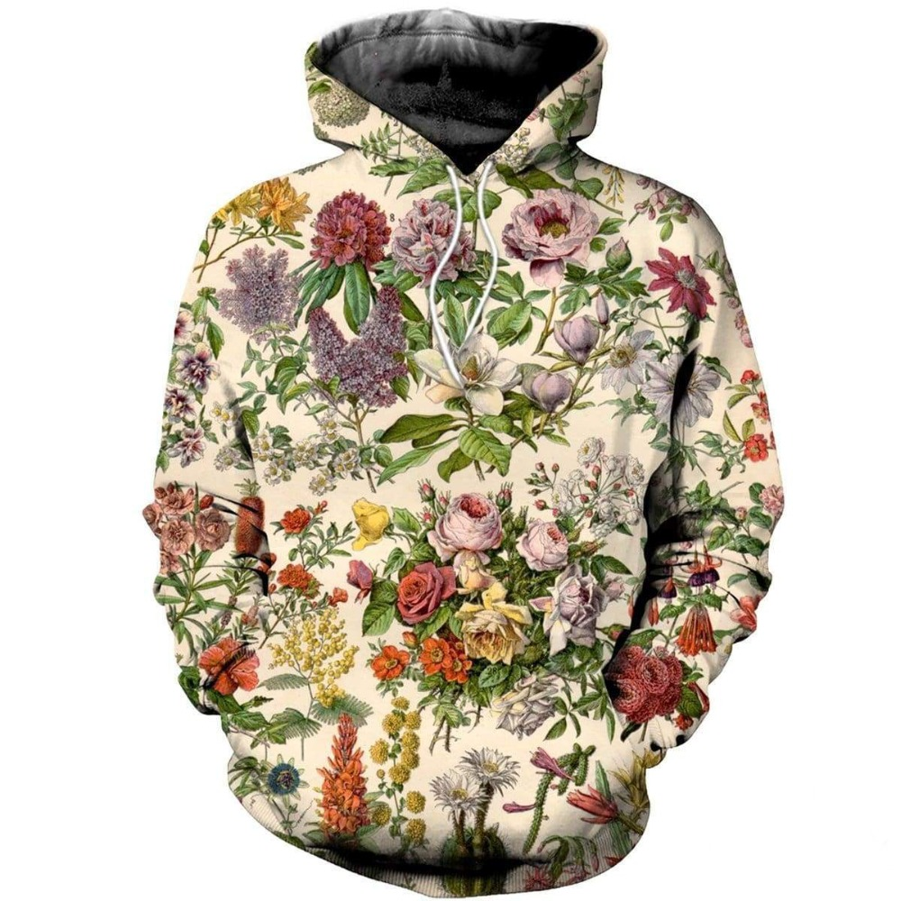 PLstar Cosmos Drop Shipping 2019 New Fashion Mens Womens Hoodie 3D PrintTropical Flowers Hoody Sweatshirt Casual Tracksuit