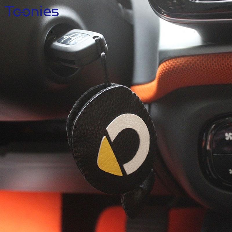 Smart Fortwo Fold auto võtmekaane ümbris Cute Logo Emote hoidja - Auto salongi tarvikud - Foto 1