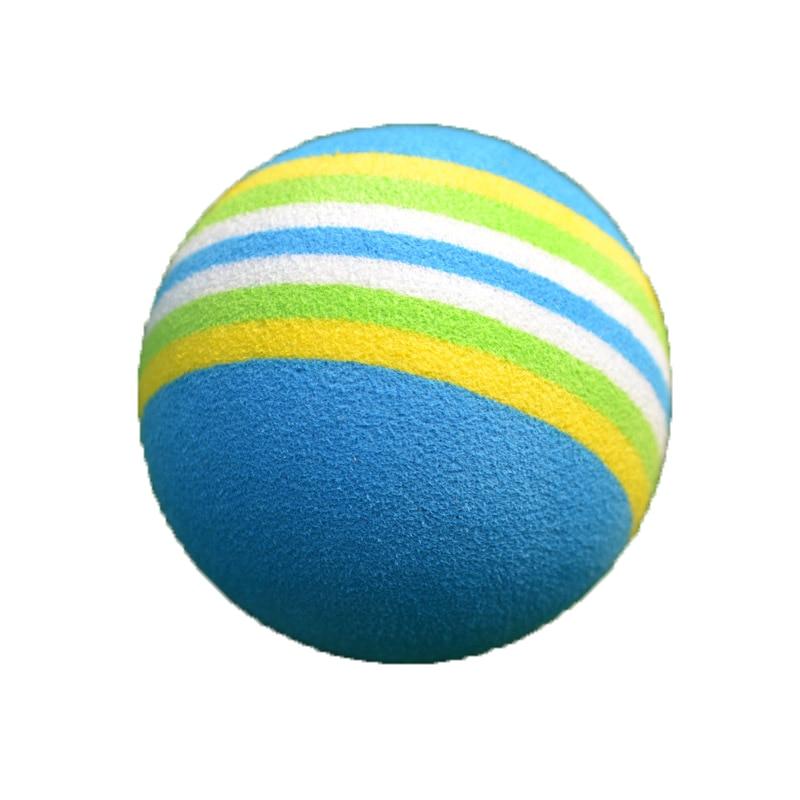 20 PCS/ lot PGM Golf Colourful Sponge Rubber Ball Game Indoor Practice Foam Rainbow Soft Ball Capsules Swing Training Aids