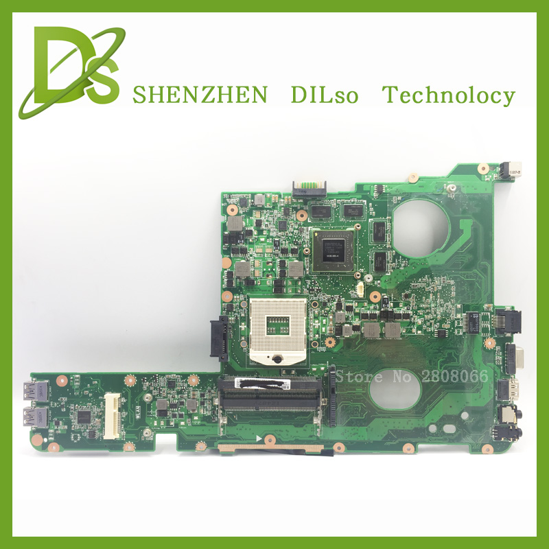 SHUOHU N45SF For ASUS N45SF N45SL Laptop motherboard N45SF mainboard REV1.3 with Graphics card 100% tested for lenovo g470 laptop motherboard mainboard la 6759p piwg1 with integrated graphics card 100