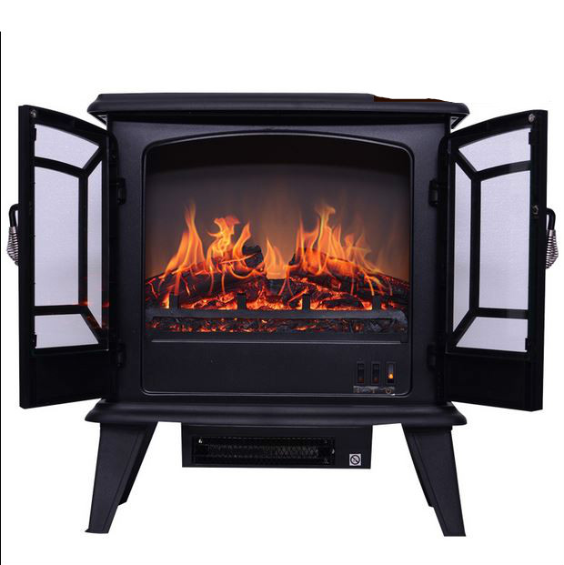 High end european style heaters independent type electric for European home fireplace