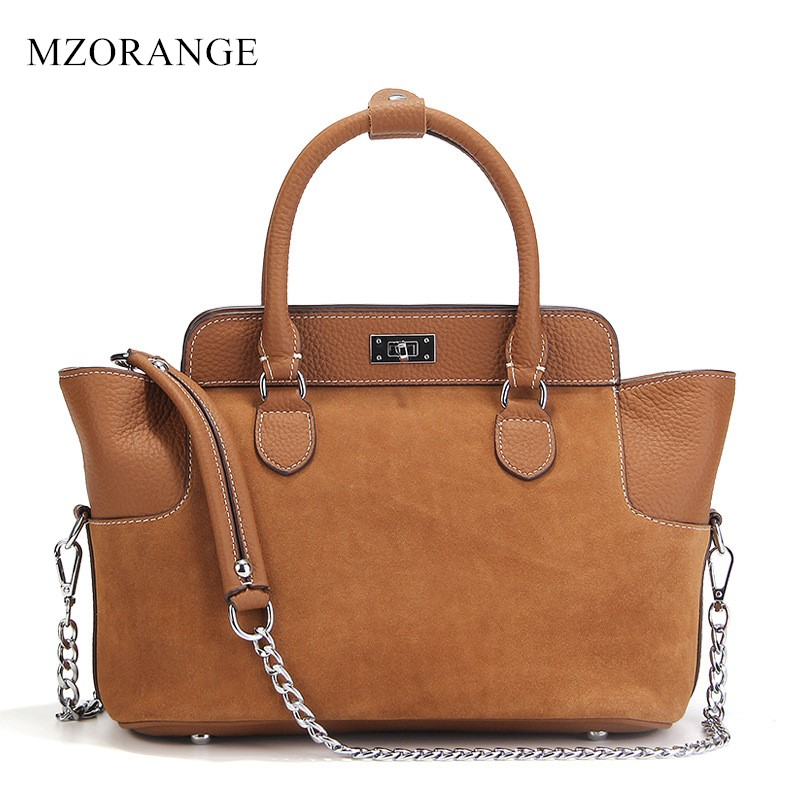 2017 New Vintage Women's bags Genuine Leather Handbags Fashion Brand Cowhide With Matte Ladies Shoulder Bags Crossbody Bags 2017 new female genuine leather handbags first layer of cowhide fashion simple women shoulder messenger bags bucket bags