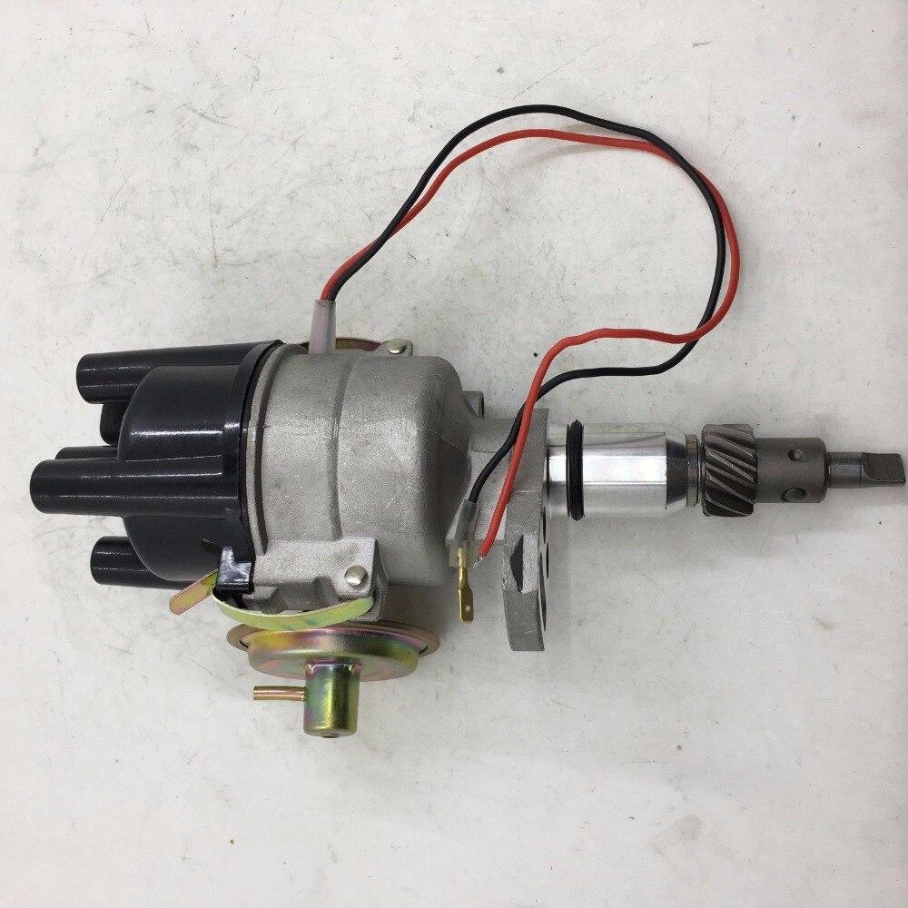 Elektroniczny rozdzielacz zapłonu sherryberg fit 1973-1975 Toyota 3K 4K 5k pojedyncza próżnia nowość
