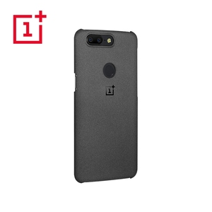 Image 5 - OnePlus 5T เดิม 100% อย่างเป็นทางการกันชนวัสดุ Aramid Fiber PC ครึ่งรอบปกหลัง SHELL หินทรายคาร์บอนสำหรับ OnePlus