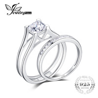 Solitaire Anniversary Engagement Ring 2ct Princess Cut Zirconia Bridal Channel Set Wedding Band 925 Sterling Silver