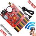 Huidu HD-W63 WIFI Sem Fio + USB Driver de Controlador de LED, WiFi Única Cor Cartão De Controle De LED Para Sinal CONDUZIDO da Mensagem