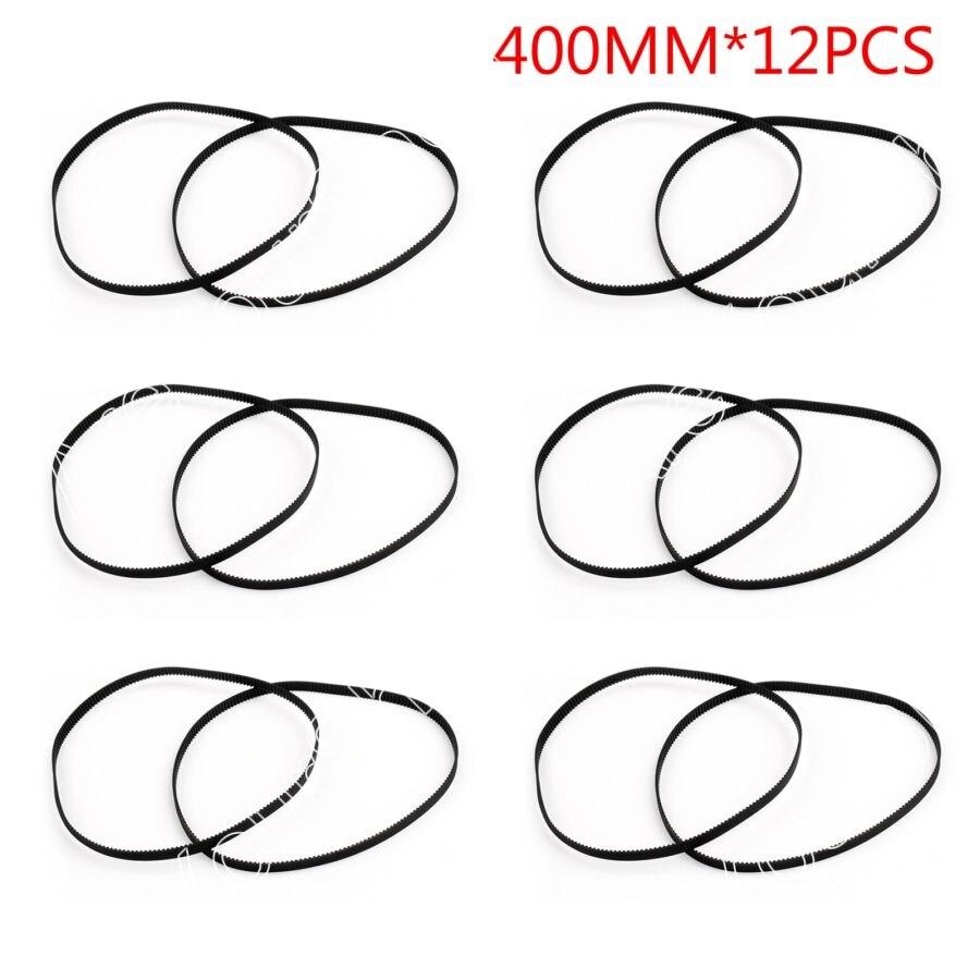 Areyourshop Sale 12PCS/Lot 400mm Timing Belt Closed Loop Rubber For 2GT 6mm 3D Printer Printer PartsAreyourshop Sale 12PCS/Lot 400mm Timing Belt Closed Loop Rubber For 2GT 6mm 3D Printer Printer Parts