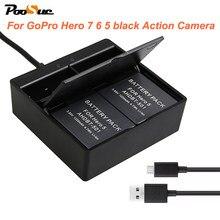 9b709f4f766 AHDBT-501 ahdbt 501 battery storage Box Dual USB Charger For Gopro Hero 5  Hero6