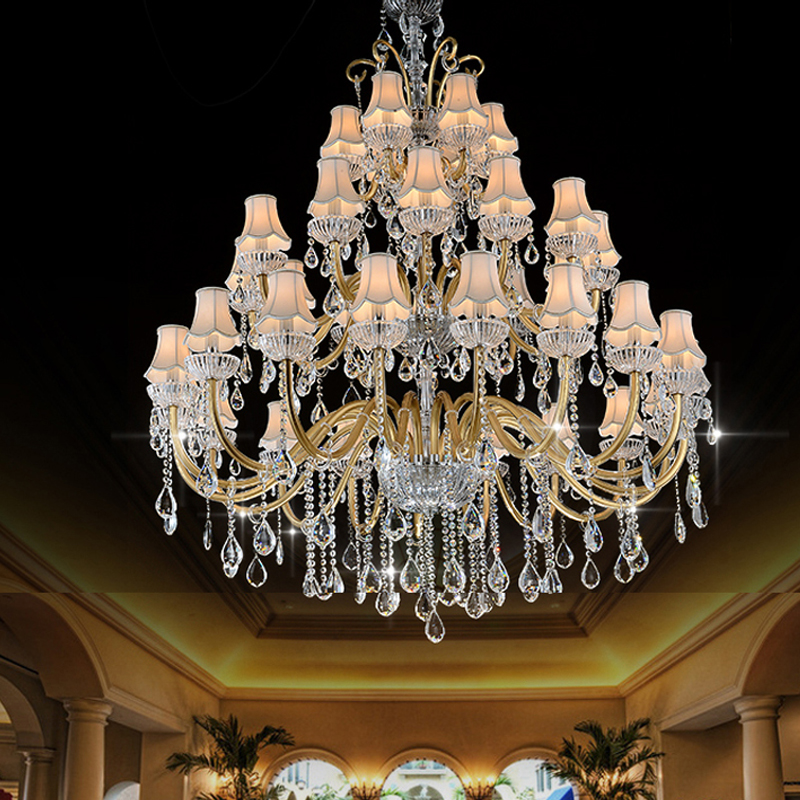 Luxury Large Chandelier Modern Sanctuary hall chandeliers with shade - Indoor Lighting - Photo 1