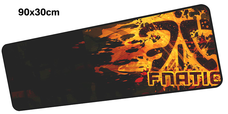 fnatic mousepad gamer 900x300X3MM gaming mouse pad large Birthday present notebook pc accessories laptop padmouse ergonomic mat