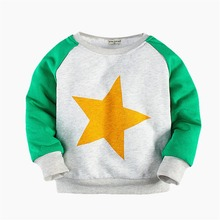 2017 baby girls boys winter sweater coat plus cashmere sweater, children's cartoon printed thick cotton padded jacket