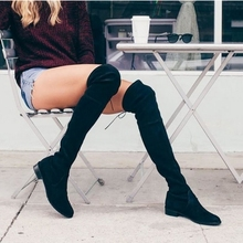 Liza over the knee boots