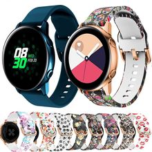 silicone Original sport 20mm Watch Strap For Samsung Galaxy Watch Active/Galaxy 42mm/ Amazfit Bip /Lite smart watch wristband