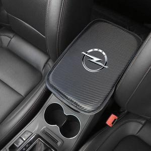 Image 5 - Alfombrilla protectora para compartimento de reposabrazos de coche, accesorios para OPEL, Insignia para Corsa, Astra, Antara, Meriva, Zafira