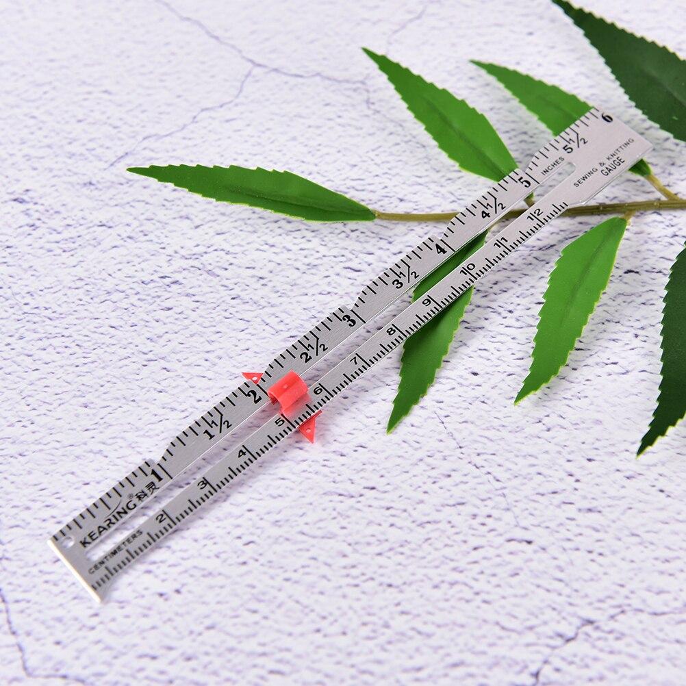 1PCS 15cm Professional Tailoring   Gauge Ruler Cloth Measuring Gauging Tools