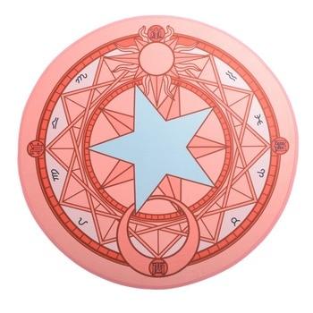 Аниме коврик Сакура собирательница карт круглый