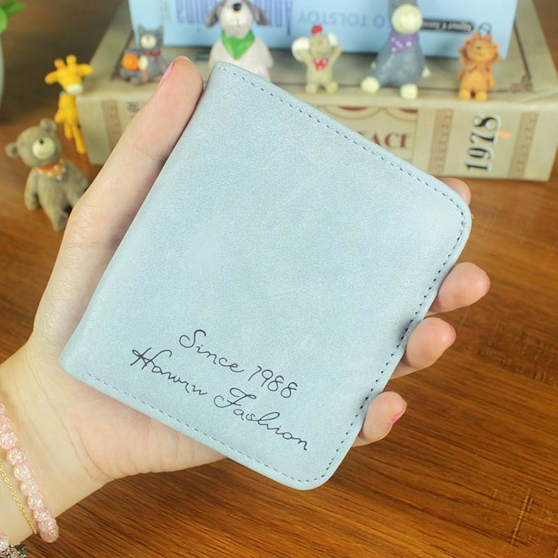 Women wallets designer brand luxury women short wallet card holder Female Clutch Ladies wallets small and slim hand bag carteira 4