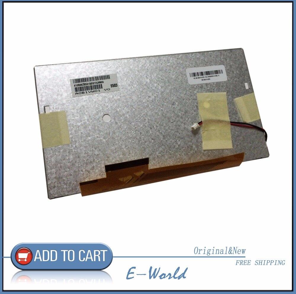 Original A061VW01 V0 A061VW01 V 0 6 1inch screen special car DVD navigation LCD SCREEN