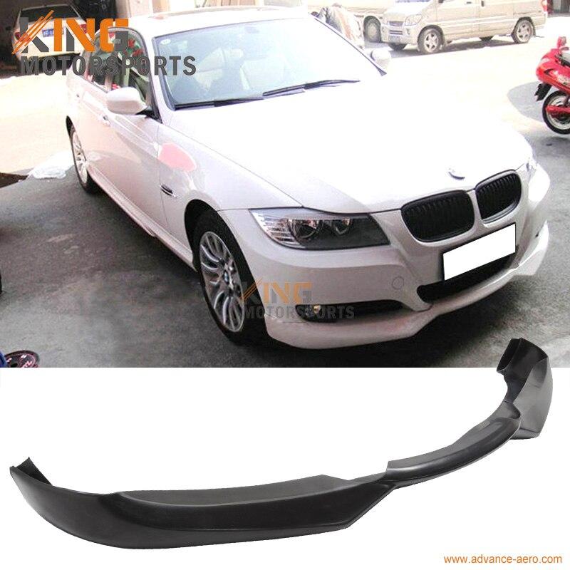 Convient au 09 10 11 12 BMW E90 E91 série 3 LCI Facelift 320i 323i 335i 335d ACS aileron de lèvre de pare-chocs avant PU