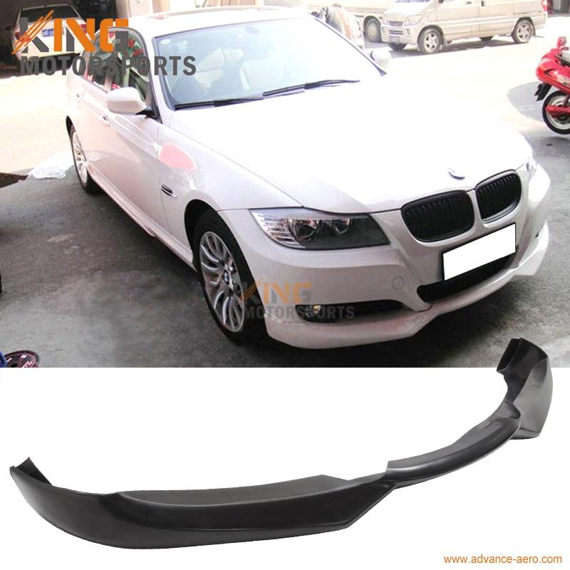 For 09 10 11 12 BMW E90 3-Series LCI Facelift 320i 323i 335i 335d Front Bumper Lip Spoiler