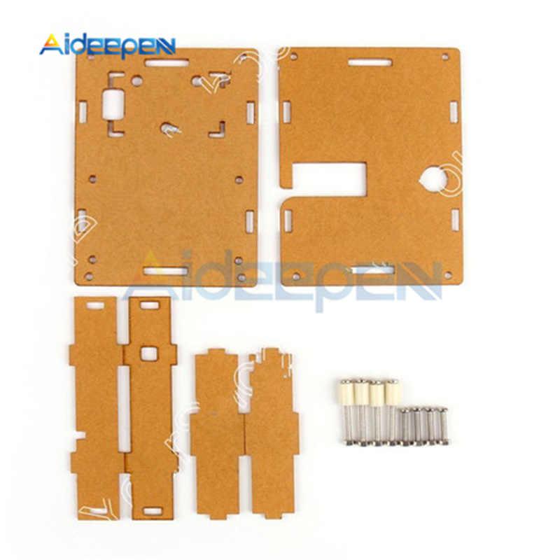 LCR-T4 M328-Battery LCD cyfrowy tester próbnik elektroniczny miernik dioda trioda pojemność miernik parametru esr dla MOSFET/JFET/PNP/NPN L/C/R1 + Case