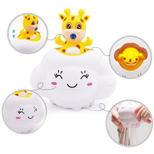 Swimming Bathing Toys Deer Cloud Rain Funny For Children Kids Baby Infant Showering 88 YJS Dropship
