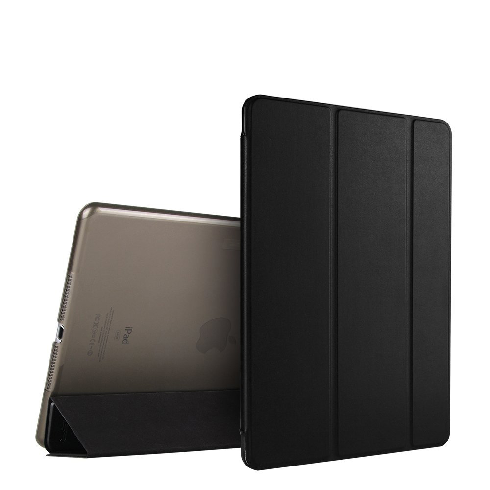 Për ipad Air 2 Case Ultimate Slim Light Light Smart Cover për Apple iPad 6 9,7 Tabletë Inch me Auto Gjumë / Karakteristikë Zgjimi