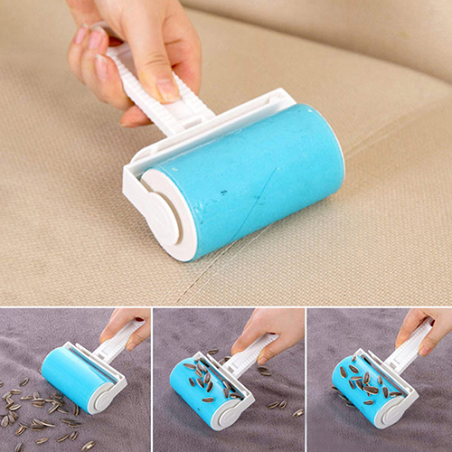 Furnishing Life Store Washable Home Sheet Pet Hair Dust Remover Clothes Cleaning Sticky Lint Roller