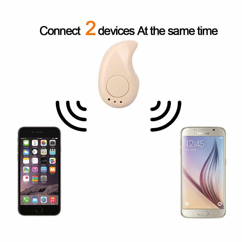 GutsyMan Mini bezprzewodowe douszne słuchawki Bluetooth S530 słuchawka do zestawu bezprzewodowego Bluetooth słuchawki douszne stereo zestaw słuchawkowy telefon
