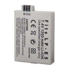 1200Mah LP-E5 Digital Camera Battery For Canon EOS 450D 500D 1000D Kiss X3 Kiss F Rebel Xsi