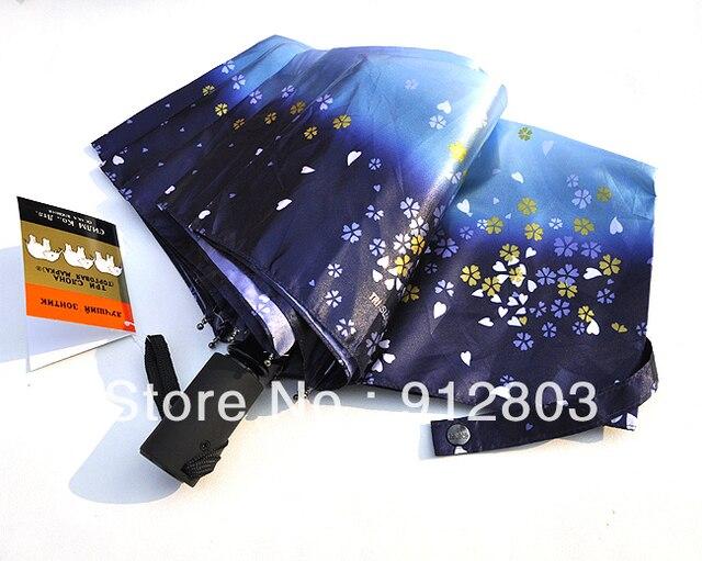 [ANYTIME]Original Brand New Arrival - Men's Women's Oil Painting Anti-uv Fully Automatic Fold Sun Rain Umbrella- Free Shipping