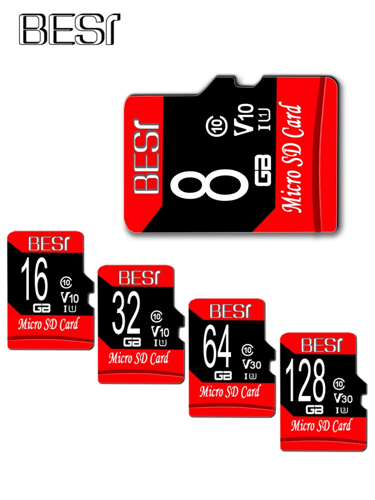X1072 Card memory micro sd tf card Microsd card Class 10 8gb 16gb 32gb top quality U3 A1 V30 64GB 128GB card flash memory(China)