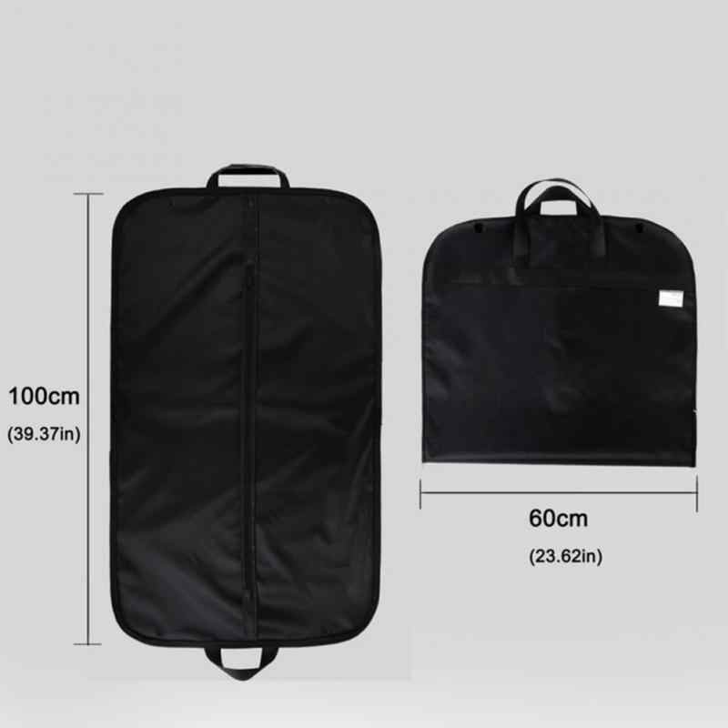 a623f0426fd9 Folded Professional Garment Bag Dust Cover for business suit Non-woven  Breathable Travel Carrier Dust Storage Cover Protector