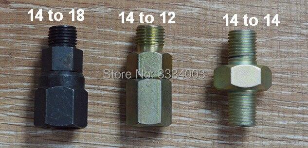 Diesel common rail tube conjointe de conversion, common rail pipe réduire commune, M14-12/14/18