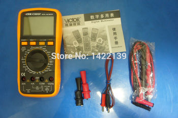 VC9805A+ LCD 3 1/2 Digital Multimeter LCR Capacitance Meter DCV/ACV/DCA/ACA Resistance