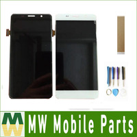 For Tesla Smartphone 6.2 Lite LCD Display With Touch Sensor Glass Digitizer Assembly Black White with tools & tape