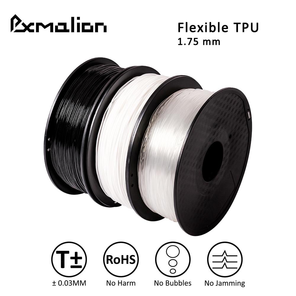 Pxmalion 1 75mm Flexible TPU 3D Printers Filament Weight 1KG