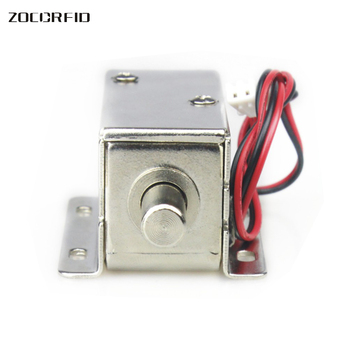 Free shippiing LY-01 round   tongue Mini Electric Lock Small Mini Cabinet Lock Access control Lock Mini Bolt Lock DC12V or DC24V new mini electric plug lock 12v cabinet electric bolt lock storage electronic drawer lock safe access control small lock