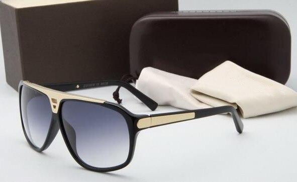 Fashion Vintage <font><b>L</b></font> Sunglasses Men Sun <font><b>Glasses</b></font> Luxury Oversize Top Luxury Brand Designer Women Sunglasses Oculos Shades UV400