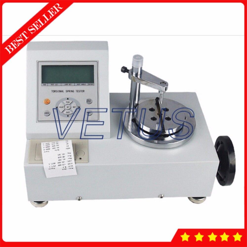 Ручной торсионный прибор для испытания пружин с встроенным принтером 3N. m/30,63kgf. cm/26,586lbf. in тест машина для пружин ANH 3