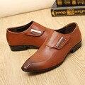 Slip on Pisos verano de Los Hombres de Negocios de Cuero Zapatos de Los Hombres Zapatos de Conducción y Monje Zapatos Para Vestido de Novia Masculino Chaussures Hombre