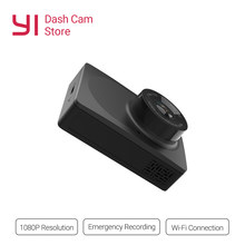 YI Compact Dash Camera 1080p Full HD Black Car Dashboard Camera with 2.7 inch LCD Screen 130 WDR Lens G-Sensor Night Vision(China)