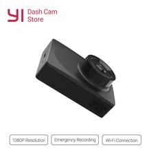 YI компактная тире камера 1080 p Full HD Черный Автомобильный видеорегистратор с 2,7 дюймов ЖК-экран 130 WDR Объектив g-сенсор ночное видение