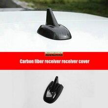 FIT For Maserati Levante 2016 2017 Carbon Fiber Radio Roof Antenna Cover Cap Trim Decoration car Accessories automobiles styling