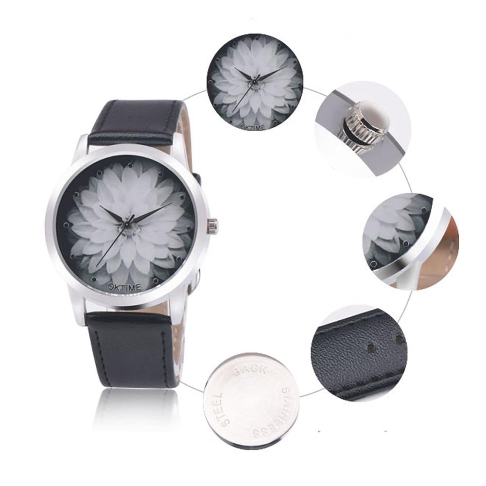 Men's Latest Fashion Luxury Leather Gifts Watch Elegant Classic Casual Analog Business Quartz Wristwatch
