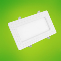 3W 6W 9W 12W 15W 18W 20W 25W Square SMD3014 LED Panel Lights Super Bright Surface